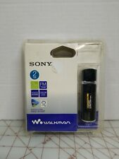 Sony Walkman NWZB105F BLK 2GB Walkman MP3 Player - Black new sealed rare