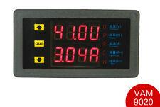 DC 10-90V 20A Voltmeter Ammeter Dual LED Display Voltage Current AMP Power Meter