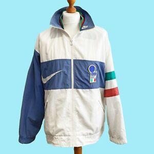 ITALY 1996/97 Nike Presentation Jacket (L) 90s International Football Euro 1996