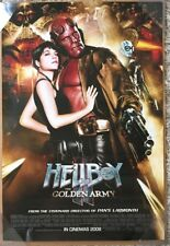 HELLBOY 2 THE GOLDEN ARMY MOVIE POSTER 2 Sided VERY RARE ORIGINAL INTL 27x40