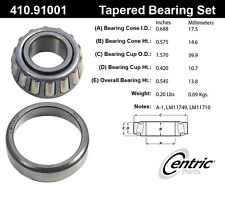 Centric Parts 410.91001E Wheel Bearing Set