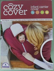 Cozy Cover Burgundy Infant Car Seat Carrier
