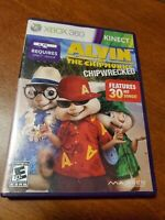 Alvin and the Chipmunks: Chipwrecked Microsoft Xbox 360 Kinect NICE