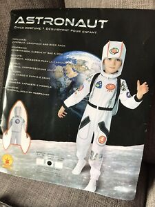 Boys Astronaut Space Man Book Week Fancy Dress Costume Kids Child Outfit