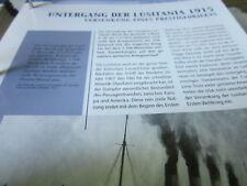 Deutsche Geschichte 1914-1933 1. Weltkrieg Untergang der Lusitania 1915