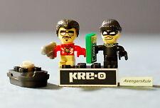 Kre-O Cityville Invasion Series 2 Mini-Figure Population Dug Runner Sgt. Shades