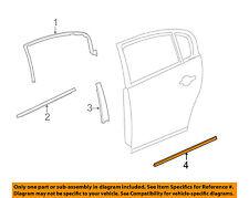 Buick GM OEM 06-07 Lucerne REAR DOOR-Body Side Molding Left 15848463