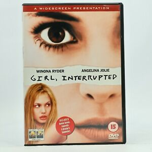 GIRL, INTERRUPTED Angelina Jolie Winona Ryder DVD R2 R4 GC Free Tracked Post
