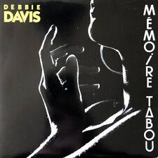"""Debbie Davis - Mémoire Tabou - Vinyl 7"""" 45T (Single)"""
