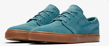 Nike Zoom Stefan Janoski Mens Suede Noise Aqua Blue Shoes Brand New Size UK 8