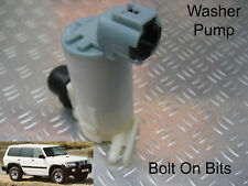 Front or Rear Windscreen Washer Pump Fits Nissan Patrol GR 1998 to 2003 2004 on