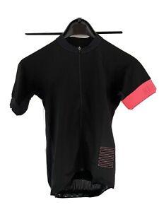 Rapha Pro Team Short Sleeve Jersey. Small. Black / Pink