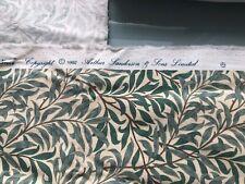Sanderson WILLIAM MORRIS Vintage Fabric Material Willowbough Minor 1.3m X 0.5m +