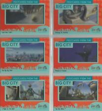 """Robots The Movie: """"Postcards From The City Filmcards"""" 6 Card Chase Set #PC1-6"""