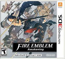 Nintendo 3DS US Fire Emblem Awakening Full Game Download Card - READ LISTING