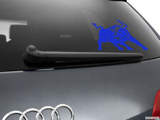 Bull Car Sticker Styling Window Decal, Blue