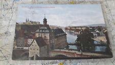 Bamberg Blick auf Rathaus Klein Venedig AK Postkarte 1820