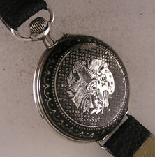 Remarkable CASE All Original 1900 Antique French Gent's Wrist Watch Perfect