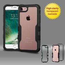 Étuis, housses et coques noir transparent iPhone 7 pour téléphone mobile et assistant personnel (PDA)