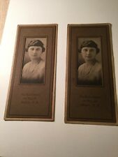 Two Rare Ladd Photograph Studio Millville New Jersey Advertising Pictures