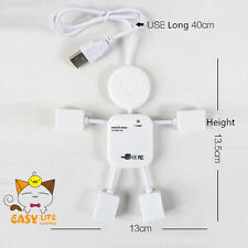 Doll 4 Port USB 2.0 Multi HUB White Splitter PC Adapter High Speed Expand 4 USB