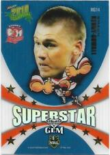 2010 Select NRL Champions Superstar Gem (MG14) Shaun KENNY-DOWELL Roosters