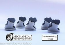 Smoke Markers (5) 40k flames of war role playing games Bolt Action