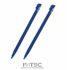 2x BLUE Replacement Plastic Stylus Touch Drawing Pens for Nintendo 2DS