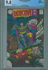 CGC (D.C) DETECTIVE COMICS #374 NM 9.4 1968 BATMAN
