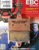 EBC/FA236HH Sintered Brake Pads (Front) - Triumph Daytona, Tiger Explorer 1200