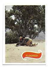 PLANET OF THE APES MOVIE CARD NO 53 FLOORED!  TOPPS NRMINT+ 5108