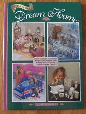 Fashion Doll Dream Home Plastic Canvas Book Camper Bedroom Bathroom Living Room
