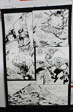 UNION #2 PAGE 14 1995 ORIGINAL ART-RYAN BENJAMIN & TOM MCWEENEY-IMAGE COMICS Comic Art