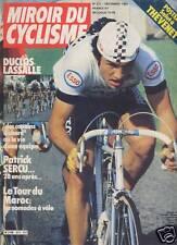 MIROIR DU CYCLISME 1981 N 311 GILBERT DUCLOS- LASSALLE