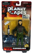 Hasbro Planet of Apes 1999 Signature Series Special Collector Edition - Cornelius with Paper Airplane, Sacred Scroll Display Stand Action Figure