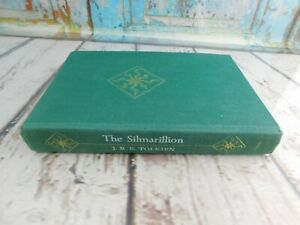 The Silmarillion by J.R.R. Tolkien 1977 FIRST American Edition w/ MAP Hardcover