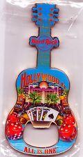 Hard Rock Hotel HOLLYWOOD FL 2011 V11 City Icons Guitar Bottle Opener Magnet