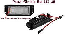 2x TOP LED SMD Kennzeichenbeleuchtung Für Kia Rio III UB /104/