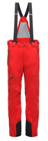 Spyder Propolsio Ski Pants Trousers Salopettes Red Mens UK Size S Small *REF91