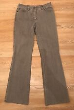 GERRY WEBER, Grey Bootcut Jean, Size 12, EXCELLENT CONDITION