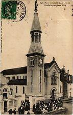CPA PARIS 20e Eglise Paroissiale de N.-D. de Lourdes Rue Pelleport (254849)
