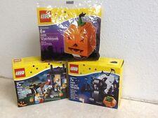LEGO HALLOWEEN 3 SETS, 40090, 40122,40055