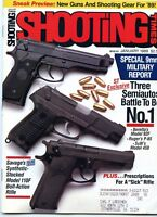 SHOOTING TIMES Magazine January 1989 Special 9mm Military Report