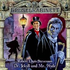 DCD Hörspiel Gruselkabinett  Robert Louis Stevenson Dr Jekyll und Mr. Hyde u.a.