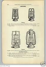 1906 PAPER AD 5 PG Dietz Railroad Lantern Buhl Headlight Lamp The Casey Driving