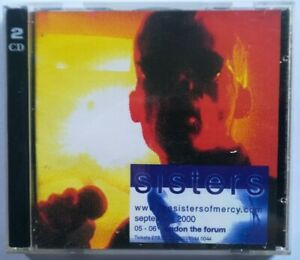 Sisters Of Mercy. Forum London 06.09.2000  (Live 2 x CD)