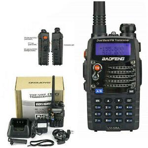 Two Way Handheld Radio F-Antenna HAM Scanner Transceiver Police Fire Portable