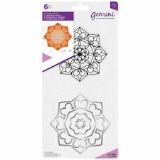 Crafter's Companion Gemini Mandala Paper Craft Stamp & Metal Die Set - Zen