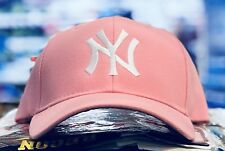 NEW YORK YANKEES LADIES CAP HAT CLASSIC MLB PATCH/LOGO  NY COOL PINK NEW HOT!!