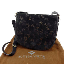 Bottega Veneta Shoulder bag Black Gold Woman Authentic Used Y3333